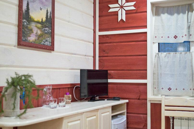 "Коттедж ""Полярная Звезда"", улица Вяйнямёйнена, 140 на 10 комнат - Фотография 37"