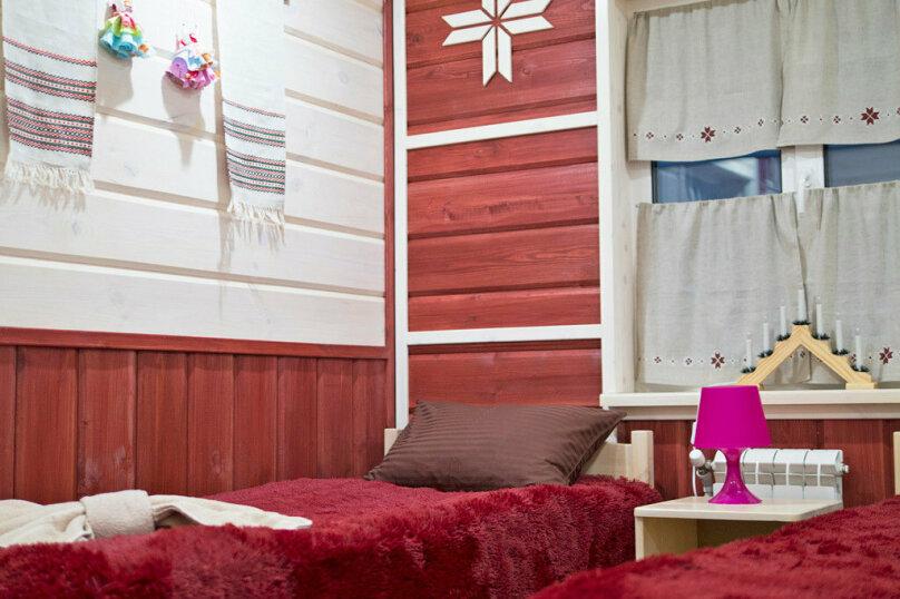 "Коттедж ""Полярная Звезда"", улица Вяйнямёйнена, 140 на 10 комнат - Фотография 38"