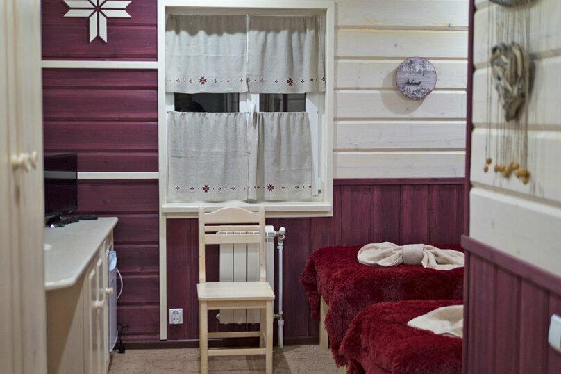 "Коттедж ""Полярная Звезда"", улица Вяйнямёйнена, 140 на 10 комнат - Фотография 66"