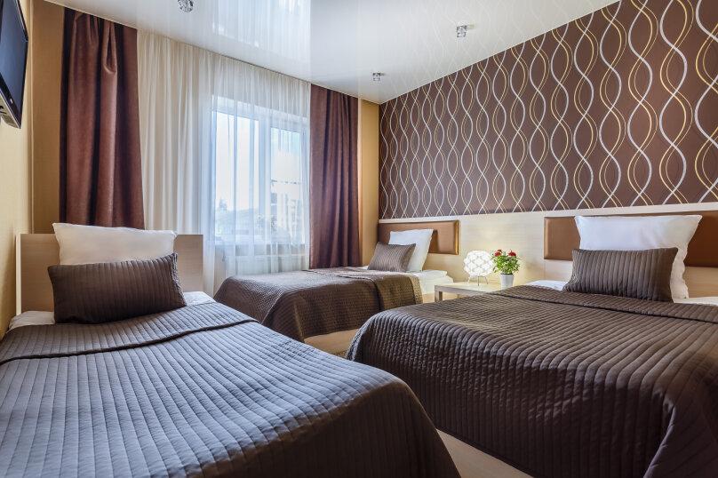 Трехместный стандартный номер с тремя кроватями, Пригородная улица, 10Б, Переславль-Залесский - Фотография 1