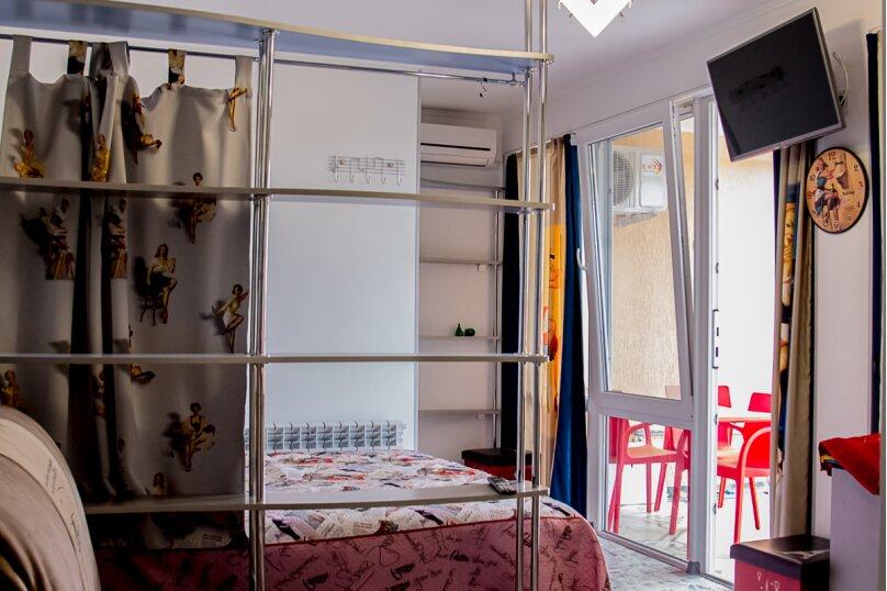 """Студия-музей, люкс, 4х местная,  """"Pin Up/Rockabilly""""., ул. Донецкая, 335, посёлок Любимовка, Севастополь - Фотография 10"""