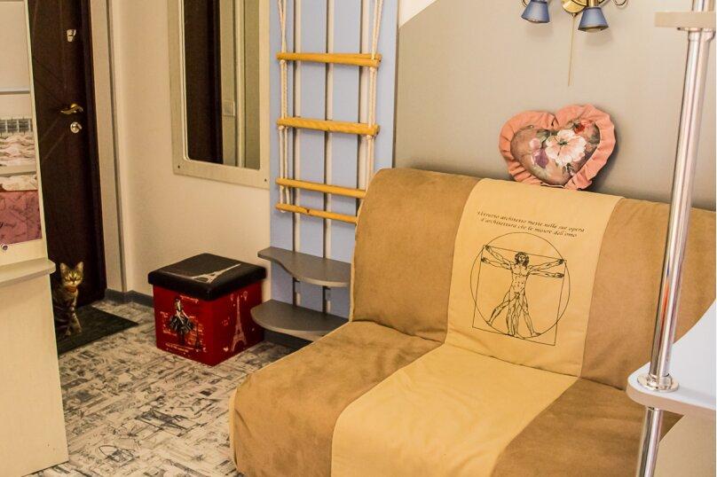 """Студия-музей, люкс, 4х местная,  """"Pin Up/Rockabilly""""., ул. Донецкая, 335, посёлок Любимовка, Севастополь - Фотография 12"""