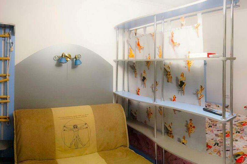 """Студия-музей, люкс, 4х местная,  """"Pin Up/Rockabilly""""., ул. Донецкая, 335, посёлок Любимовка, Севастополь - Фотография 24"""