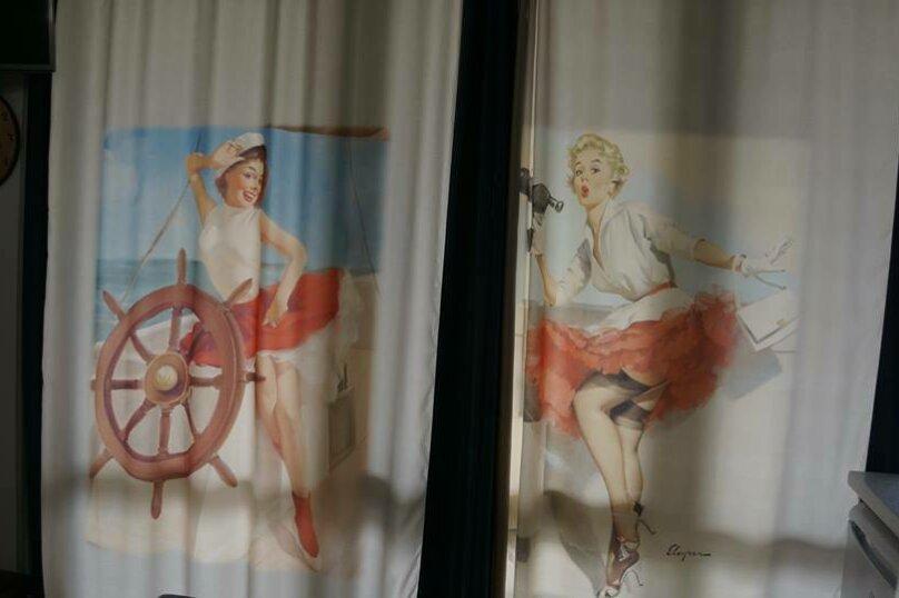 """Студия-музей, люкс, 4х местная,  """"Pin Up/Rockabilly""""., ул. Донецкая, 335, посёлок Любимовка, Севастополь - Фотография 29"""
