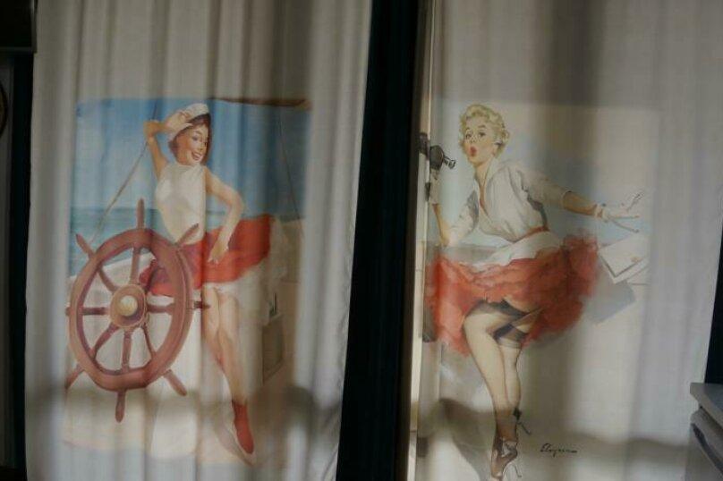 """Студия-музей, люкс, 4х местная,  """"Pin Up/Rockabilly""""., ул. Донецкая, 335, посёлок Любимовка, Севастополь - Фотография 53"""