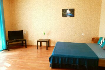 1-комн. квартира, 46 кв.м. на 4 человека, Новогодняя улица, 12/1, Новосибирск - Фотография 1