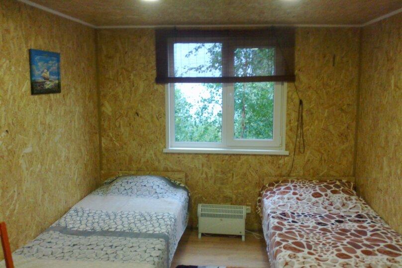 Домик на берегу Онежского озера, 46 кв.м. на 5 человек, 2 спальни, Окунья Тоня, 6, Петрозаводск - Фотография 6