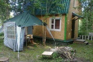 Домик на берегу Онежского озера, 46 кв.м. на 5 человек, 2 спальни, Окунья Тоня, Петрозаводск - Фотография 2