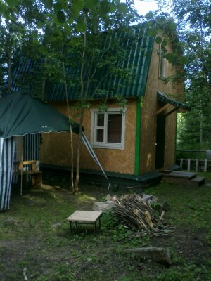 Домик на берегу Онежского озера, 46 кв.м. на 5 человек, 2 спальни