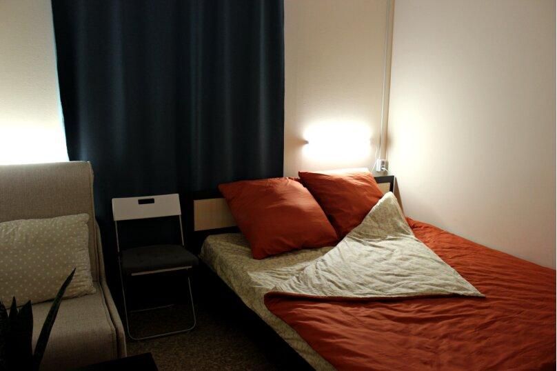 Комфорт двухместный номер с двуспальной кроватью и доп. местом + ТВ, улица Пушкина, 15, Ярославль - Фотография 1