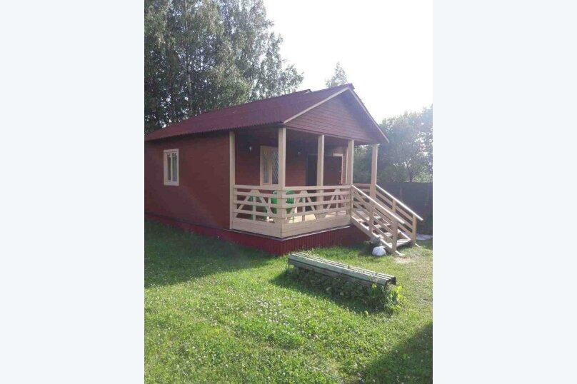 База отдыха Новая Жемчужина, 50 кв.м. на 4 человека, 1 спальня, Озерная, 3, Луга - Фотография 1
