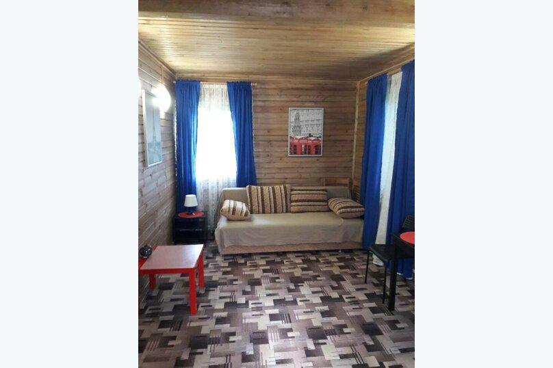 База отдыха Новая Жемчужина, 50 кв.м. на 4 человека, 1 спальня, Озерная, 3, Луга - Фотография 18