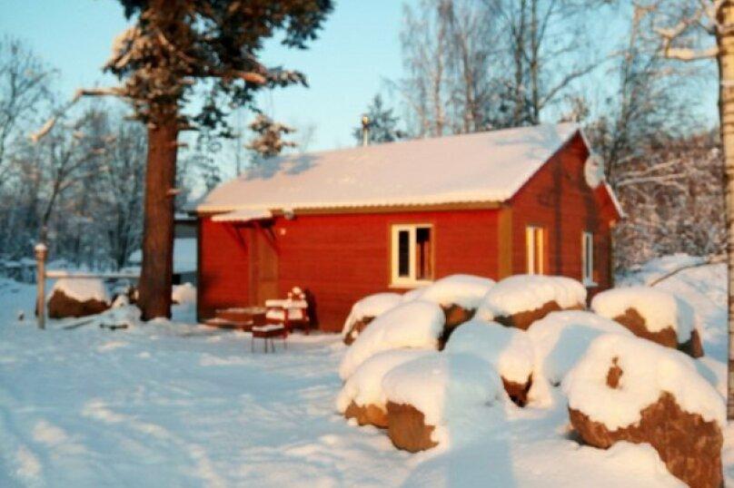 Дом на 4-х человек на 4 человека, 2 спальни, пос. Быково, ул. Центральная, 20, Приозерск - Фотография 6