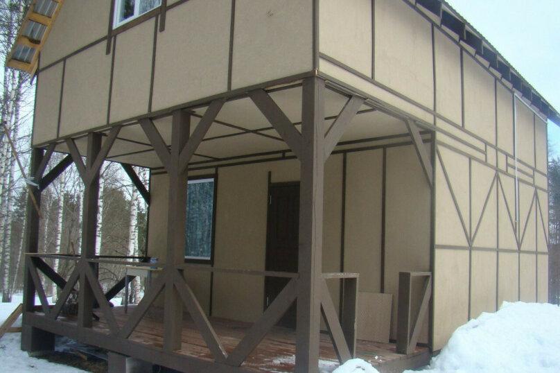 Дом, 84 кв.м. на 6 человек, пос. Свободное, 1, Каменногорск - Фотография 1
