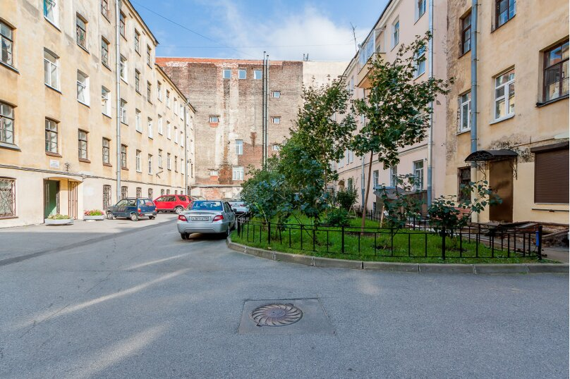 1-комн. квартира, 50 кв.м. на 4 человека, улица Чайковского, 16, Санкт-Петербург - Фотография 16