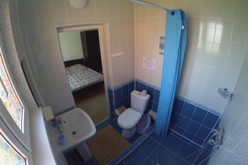 """3х местный номер """"стандарт"""" второй этаж, Каштановая улица, 14, Архипо-Осиповка - Фотография 4"""