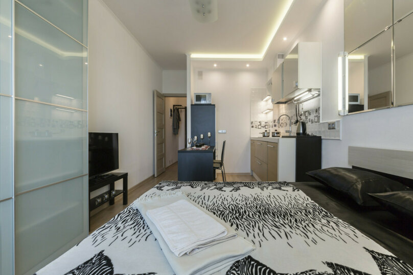1-комн. квартира, 30 кв.м. на 2 человека, улица Адмирала Черокова, 18к1, Санкт-Петербург - Фотография 5