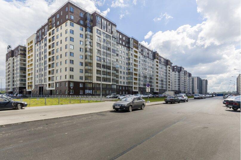 1-комн. квартира, 30 кв.м. на 2 человека, проспект Ветеранов, 169к3, Санкт-Петербург - Фотография 31