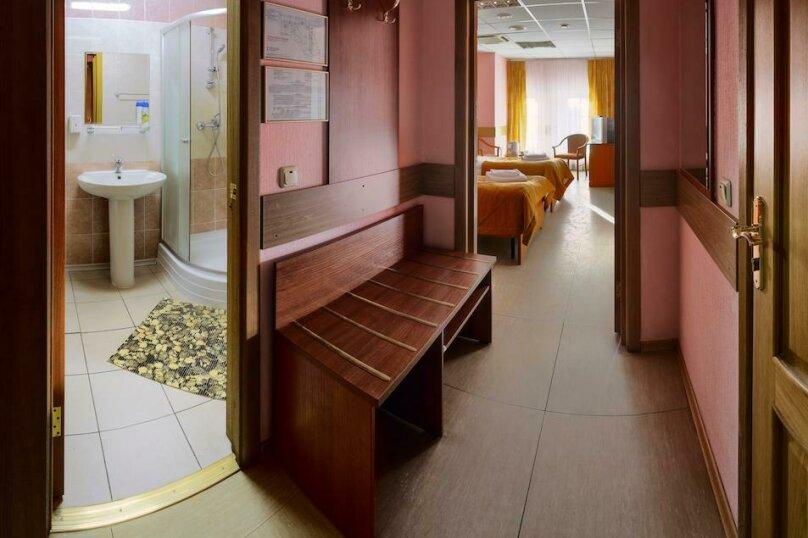 Эконом двухместный с общим санузлом, площадь Тверская Застава, 7, метро Белорусская, Москва - Фотография 13