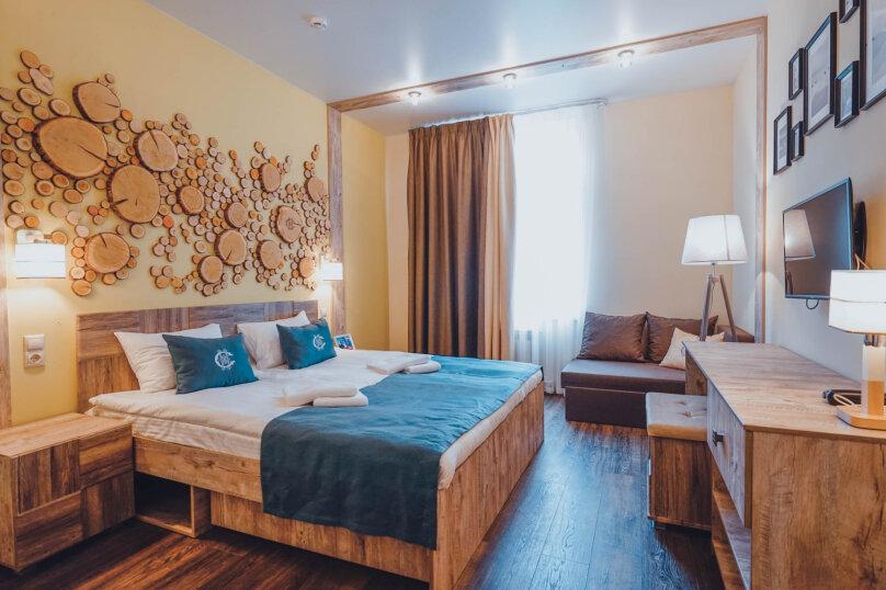 Улучшенный трехместный номер с кроватью Kingsize и диваном, Ленинградское шоссе, 303, Москва - Фотография 1
