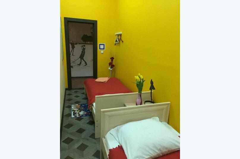 2-местный стандарт ( 6-я комната) , Сретенский бульвар, 6/1с1, Москва - Фотография 1