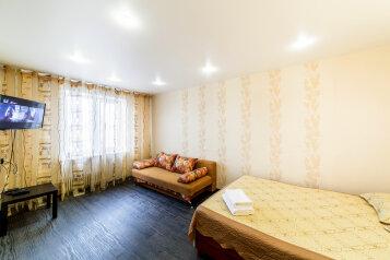 1-комн. квартира, 34 кв.м. на 4 человека, Меридианная улица, 7, Ново-Савиновский район, Казань - Фотография 1