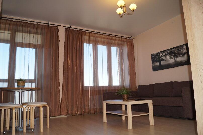 1-комн. квартира, 42 кв.м. на 3 человека, Взлётная улица, 7Д, Красноярск - Фотография 9