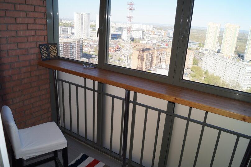 1-комн. квартира, 42 кв.м. на 3 человека, Взлётная улица, 7Д, Красноярск - Фотография 11