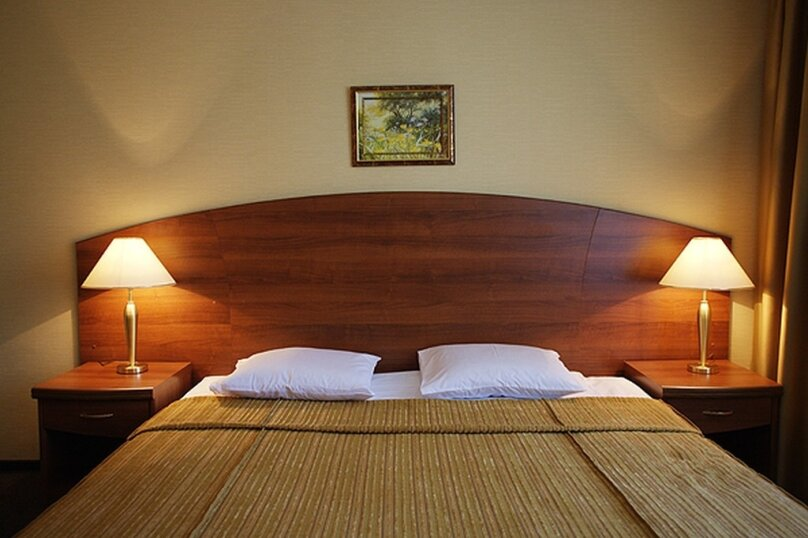 Номер Первой категории с одной двуспальной кроватью (комфорт), проспект Шаумяна, 26, Санкт-Петербург - Фотография 1