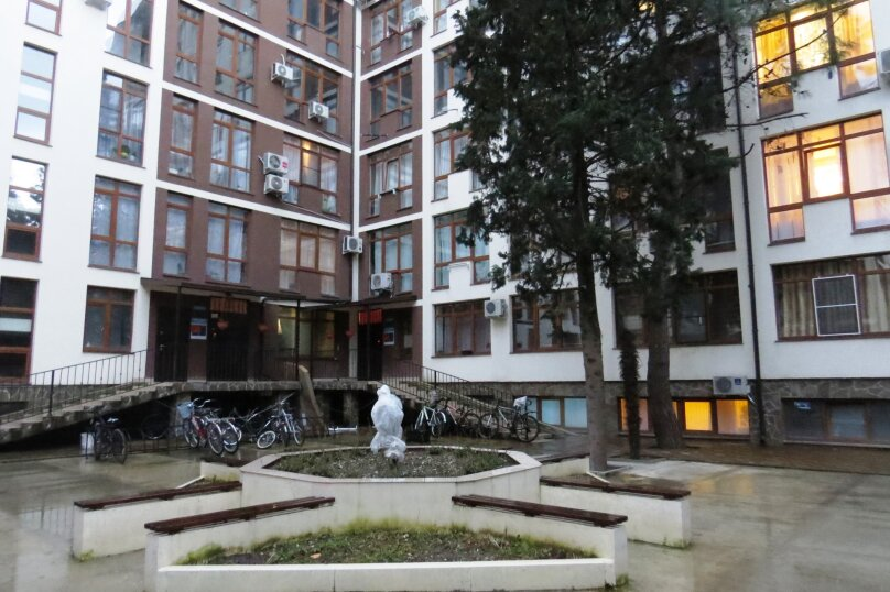 2-комн. квартира, 50 кв.м. на 4 человека, Цветочная улица, 44/3, Адлер - Фотография 22