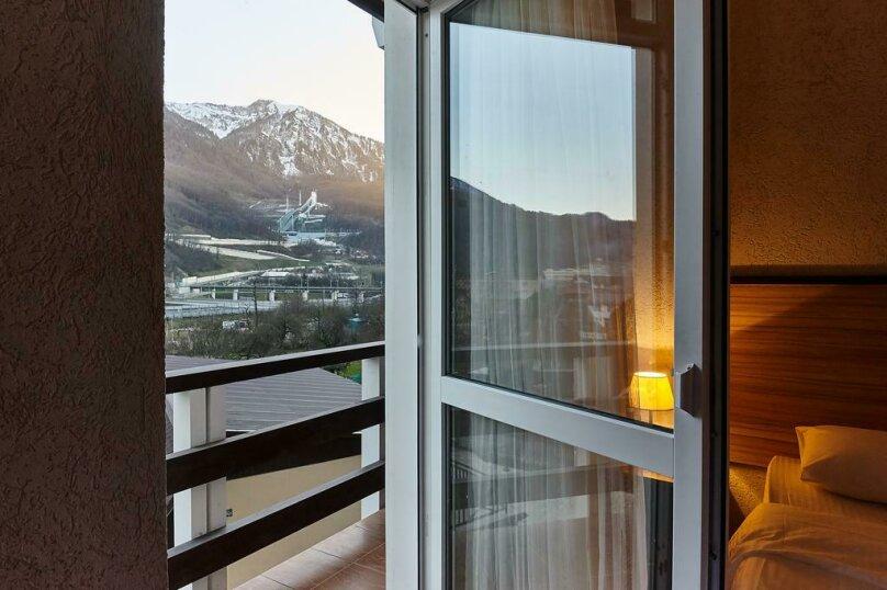 2-х местный с видом на горы, переулок Акаций, 12, Эстосадок, Красная Поляна - Фотография 3