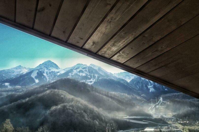 2-х местный с видом на горы, переулок Акаций, 12, Эстосадок, Красная Поляна - Фотография 6