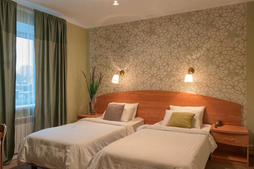 Стандартный двухместный номер с двумя односпальными кроватями, улица Ломоносова, 31, Ярославль - Фотография 1