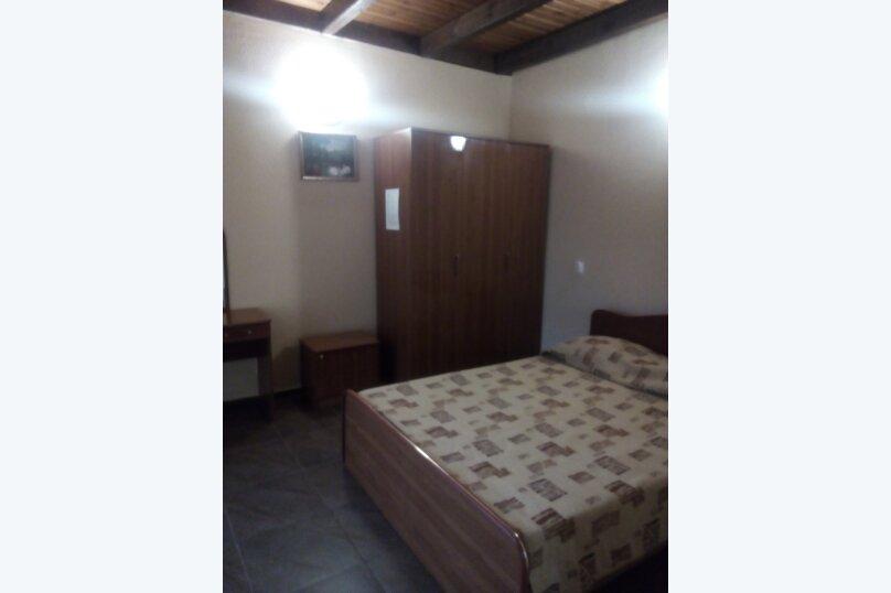 в двух комнатах  стандарт с балконом   - 4 места, Луговая , 4, Архипо-Осиповка - Фотография 1