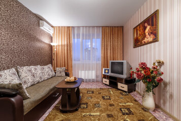 1-комн. квартира, 42 кв.м. на 4 человека, 45 Стрелковой дивизии, 106, Воронеж - Фотография 1