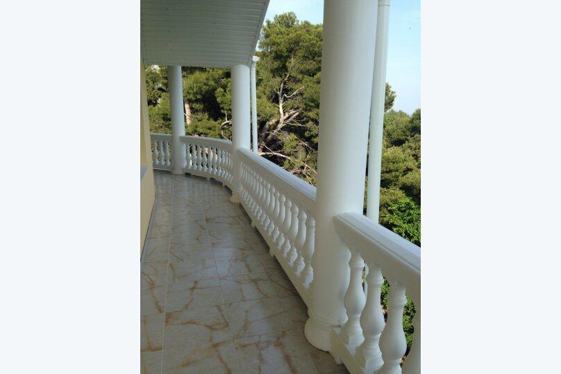 Верхний этаж дома с панорамным видом на море и отдельным входом, 133 кв.м. на 6 человек, 2 спальни, Севастопольское шоссе, 54 Е, Гаспра - Фотография 6