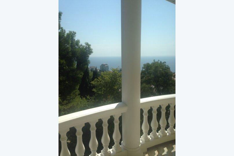Верхний этаж дома с панорамным видом на море и отдельным входом, 133 кв.м. на 6 человек, 2 спальни, Севастопольское шоссе, 54 Е, Гаспра - Фотография 7