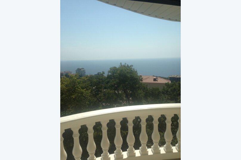 Верхний этаж дома с панорамным видом на море и отдельным входом, 133 кв.м. на 6 человек, 2 спальни, Севастопольское шоссе, 54 Е, Гаспра - Фотография 8