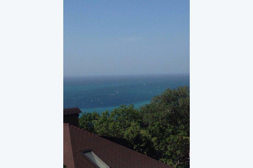 Верхний этаж дома с панорамным видом на море и отдельным входом, 133 кв.м. на 6 человек, 2 спальни, Севастопольское шоссе, 54 Е, Гаспра - Фотография 10