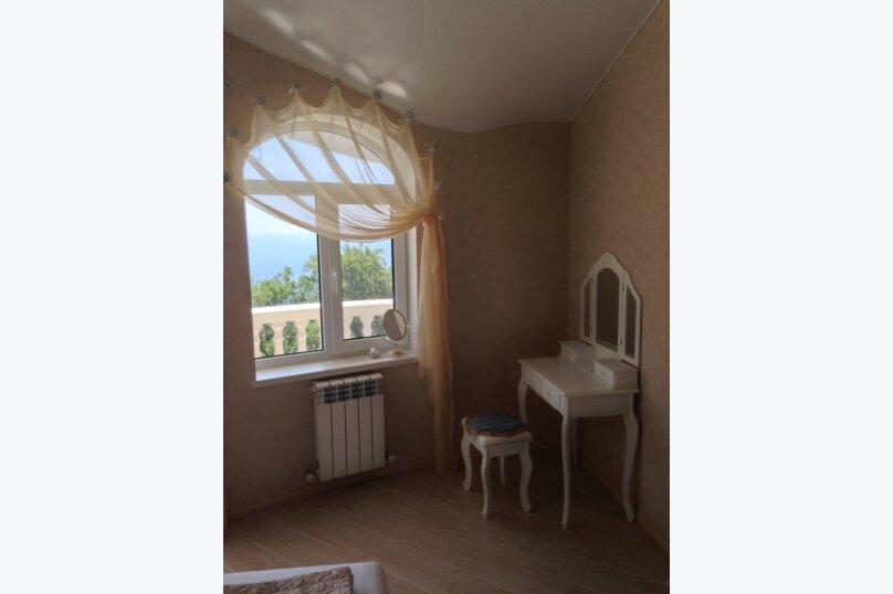 Верхний этаж дома с панорамным видом на море и отдельным входом, 133 кв.м. на 6 человек, 2 спальни, Севастопольское шоссе, 54 Е, Гаспра - Фотография 14