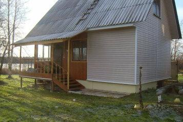 Дом, 50 кв.м. на 6 человек, 2 спальни, дер. Турово, Приозёрная улица, Луга - Фотография 1
