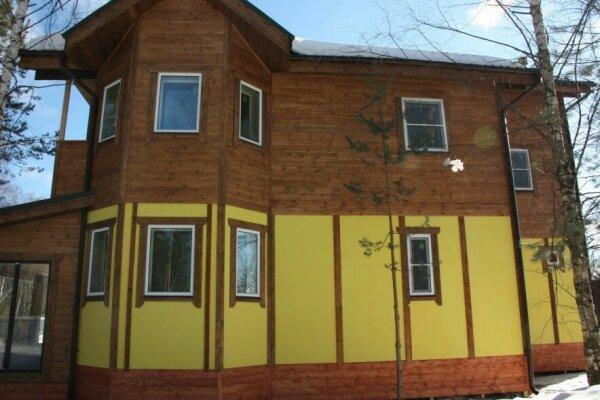 Коттедж, 220 кв.м. на 13 человек, 5 спален, деревня Жуковка, 1, Дмитров - Фотография 1