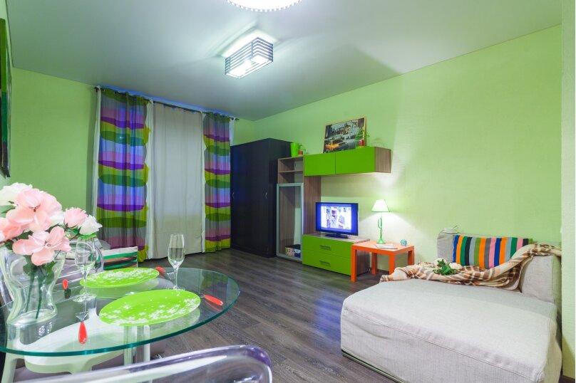 2-комн. квартира, 42 кв.м. на 5 человек, Полтавский проезд, 2, Санкт-Петербург - Фотография 10