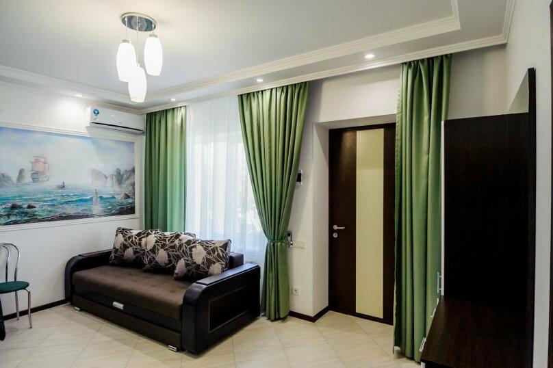 Люкс с 1 спальней (3-х местный), улица Чкалова, 10, Саки - Фотография 5