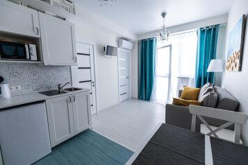 2-комн. квартира, 45 кв.м. на 4 человека, улица Станиславского, 1А, Адлер - Фотография 1