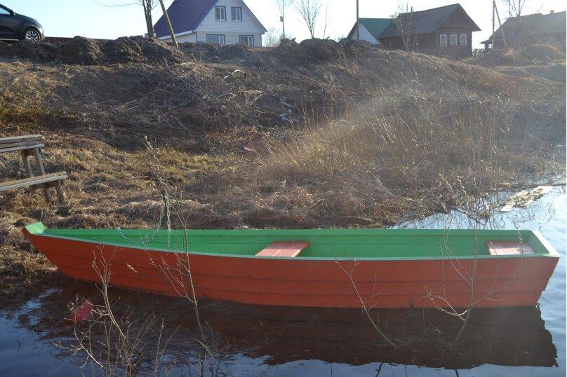 Дом на берегу реки Олонка, 100 кв.м. на 9 человек, 3 спальни, Зивчальская улица, 32А, Ильинский, Карелия - Фотография 8
