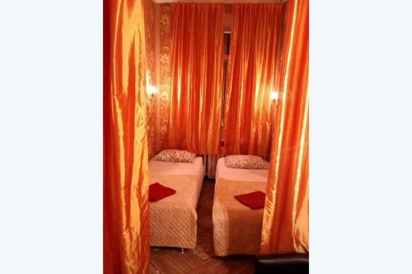 Двухместный номер с двумя раздельными кроватями, Большая Сухаревская площадь, 16/18с2, метро Сухаревская, Москва - Фотография 1