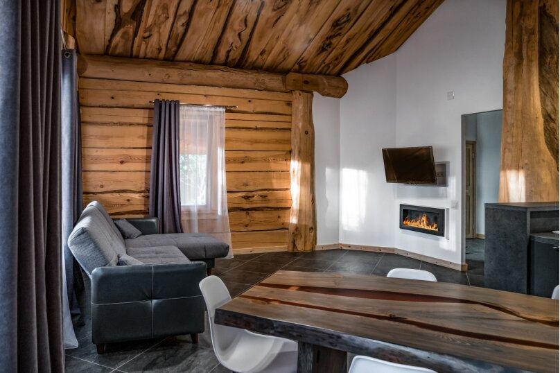 Гостевой дом, 150 кв.м. на 9 человек, 3 спальни, Волжская, 1, Некрасовское - Фотография 1