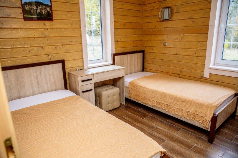 Гостевой дом, 60 кв.м. на 6 человек, 2 спальни, п. Сорола, 999, Лахденпохья - Фотография 8