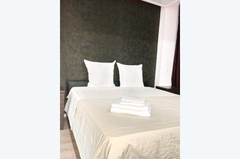 Номер полулюкс CROCUS #6 с двуспальной кроватью, джаккузи в собственной ванной комнатой, Красногорский бульвар, 24, Красногорск - Фотография 8